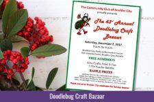Doodlebug Craft Bazaar Ad Boulder City, NV