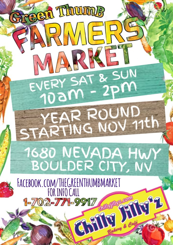 Farmers Market Starting Boulder City, NV