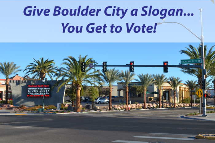 Boulder City, Nevada Slogan Survey
