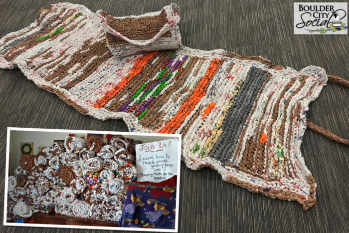 Good Deeds: Turn Plastic Shopping Bags Into Mats for the Homeless