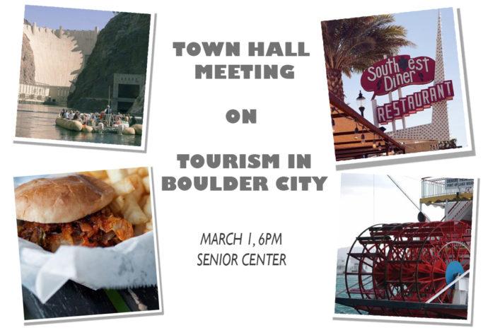 Town Hall Tourism Meeting Boulder City, Nevada