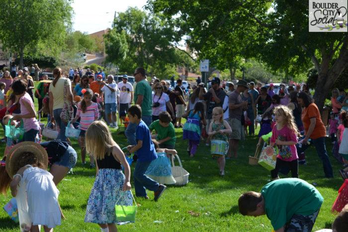 Annual Ester Egg Hunt Boulder City, Nevada