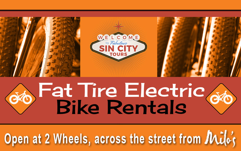 2 Wheels Sin City Fat Bike Tours Boulder City, NV
