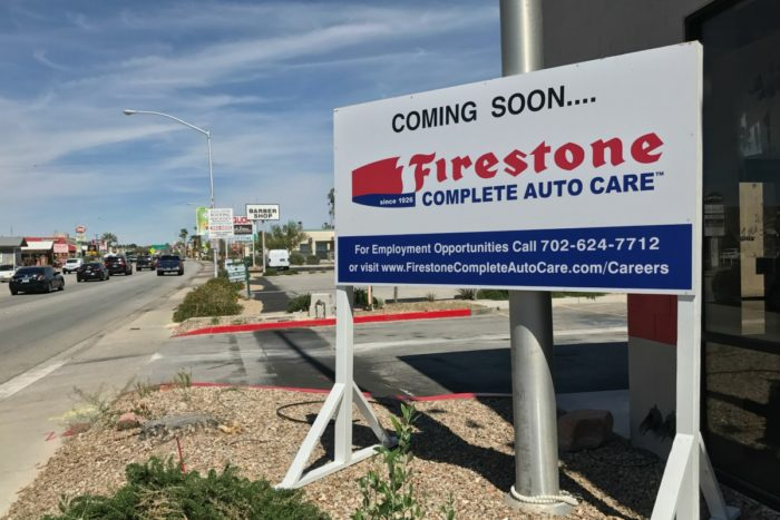 Big O To Firestone Boulder City, Nevada