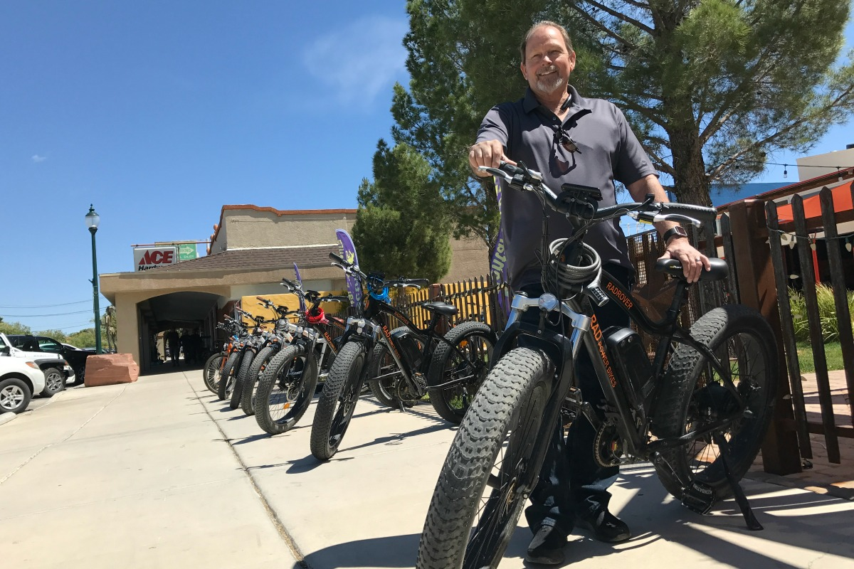 Sin City Fat Bike Tours Rick Boulder City, NV