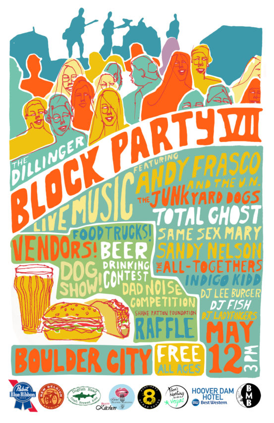BLOCK PARTY Flyer Boulder City, Nevada