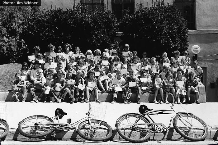 Boulder City, NV Fan Photo Jim Widner Library Summer Reading 1952