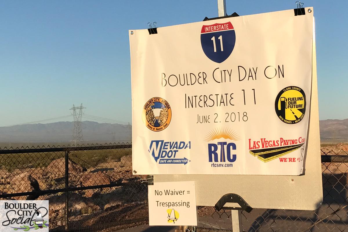 I-11 Event Entrance Boulder City, NV