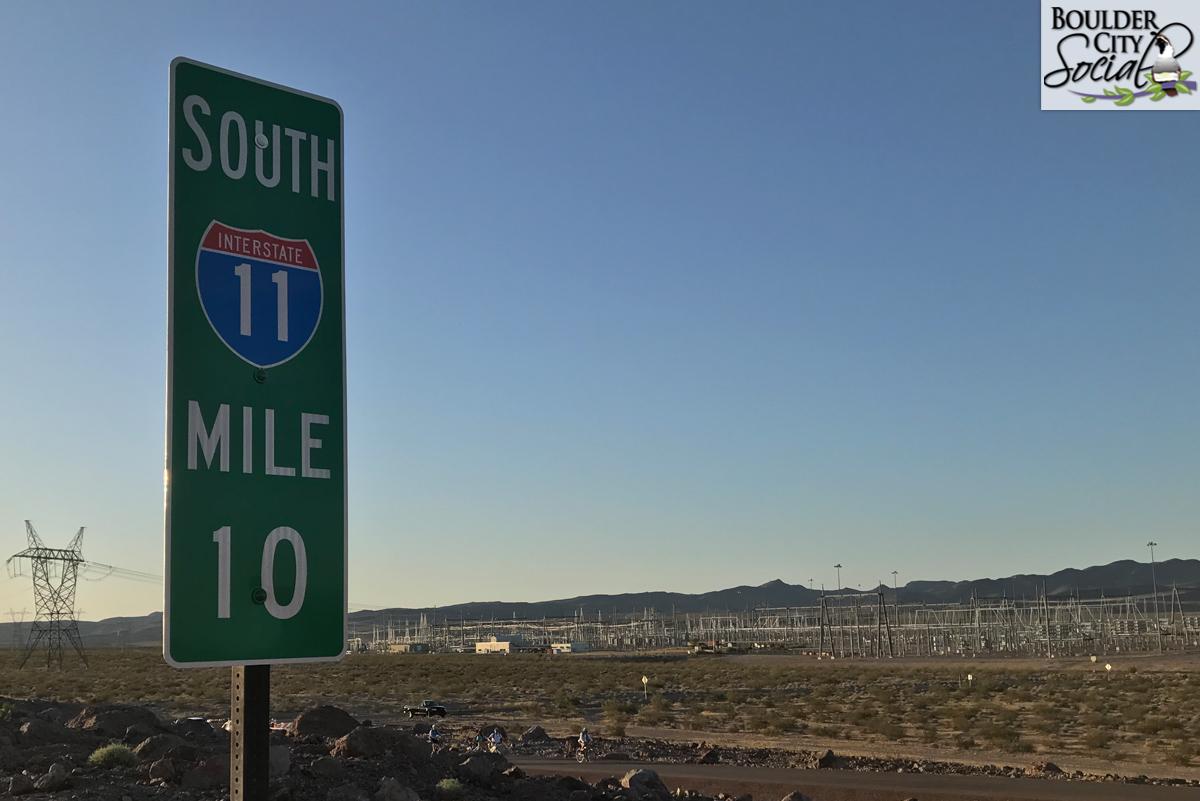 I-11 Sign Boulder City, NV