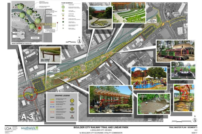 The Proposed Linear Park in Boulder City Receives $350,000 Financial Grant