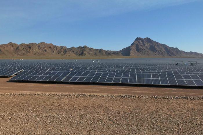 Solar Panel Field Boulder City, Nevada