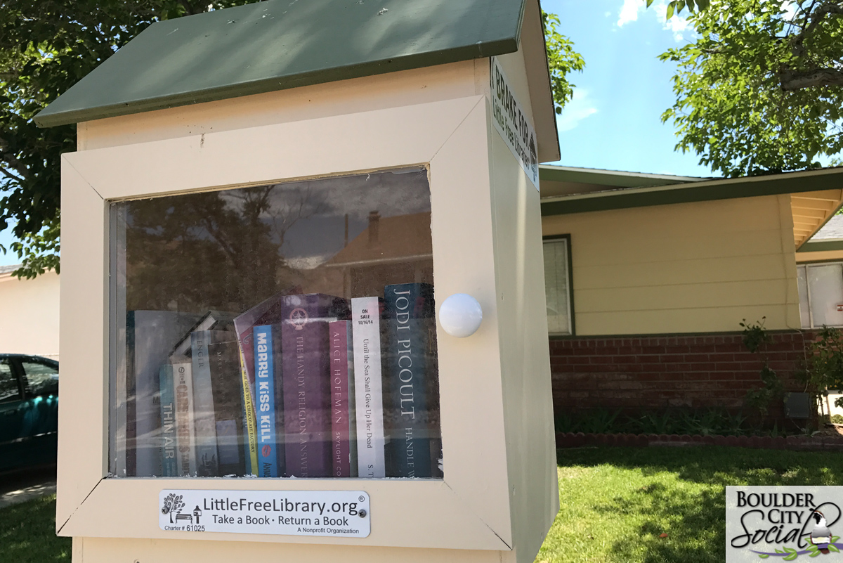 Free Little Library 2 Boulder City, Nevada