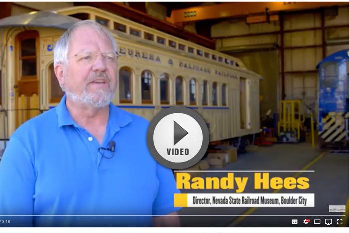 Video Railway Museum Boulder City, Nevada