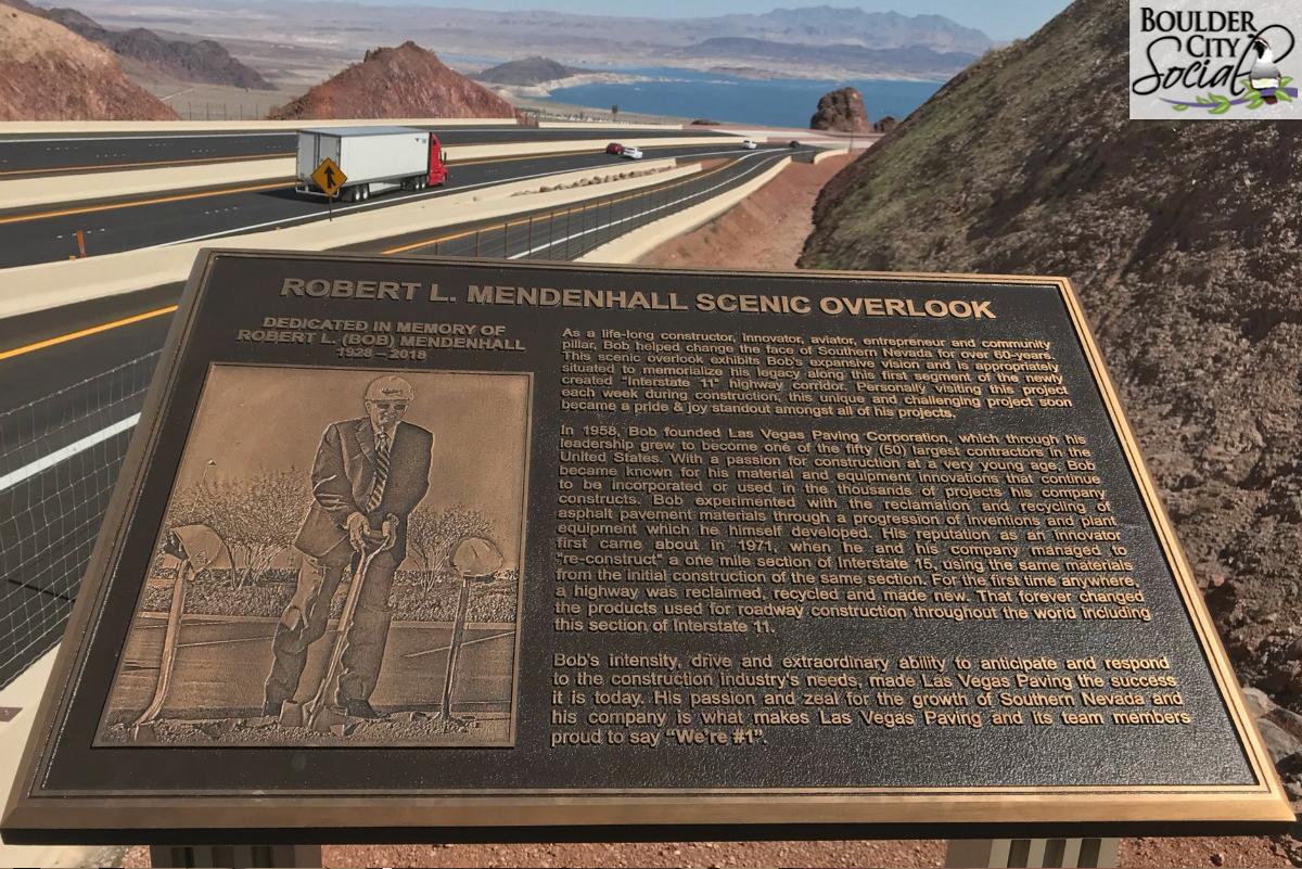 I-11 Scenic Dedication Boulder City, Nevada
