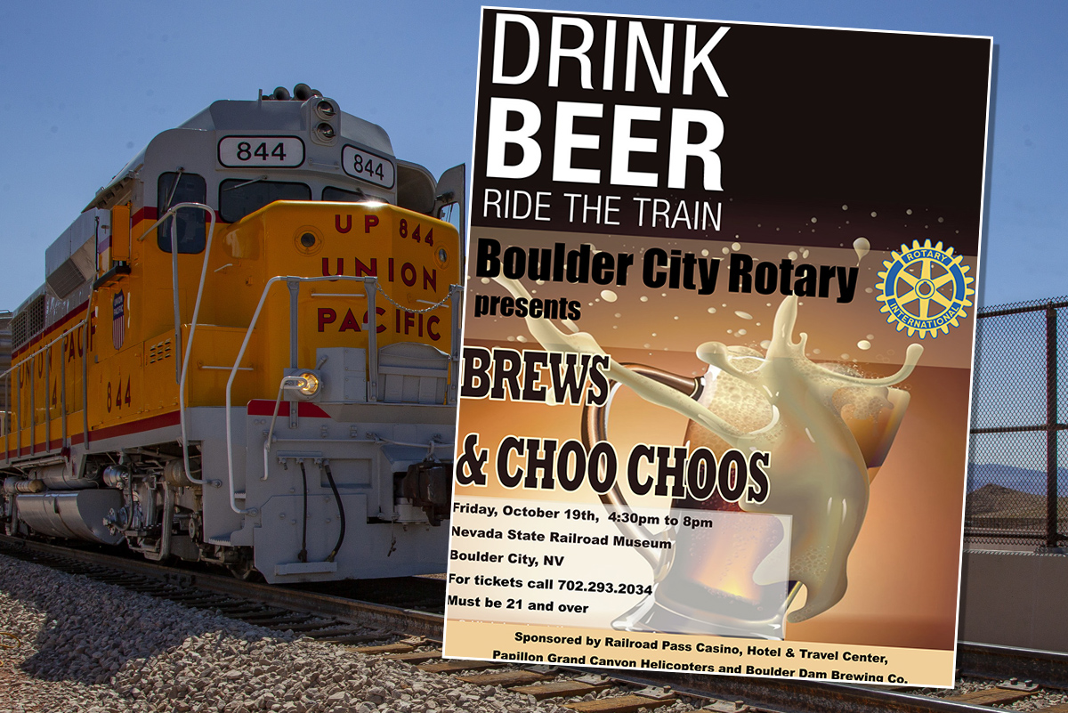 Brews Choo Choos Rotary Boulder City, NV