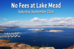 No Fee Day Lake Mead Boulder City, NV