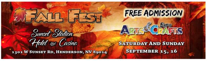 Fall Fest Sunset Station Boulder City, Nevada