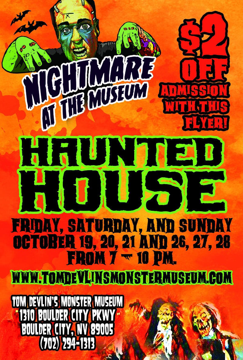 Haunt Flyer Boulder City, NV