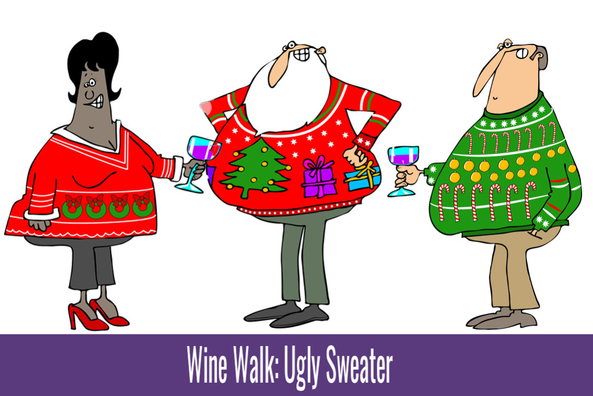 Wine Walk Ugly Sweater Boulder City, NV