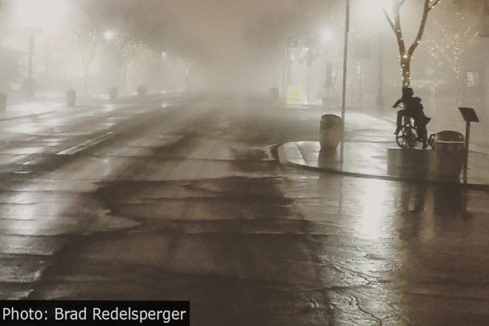 Fan Photo Downtown Fog Boulder City, Nevada
