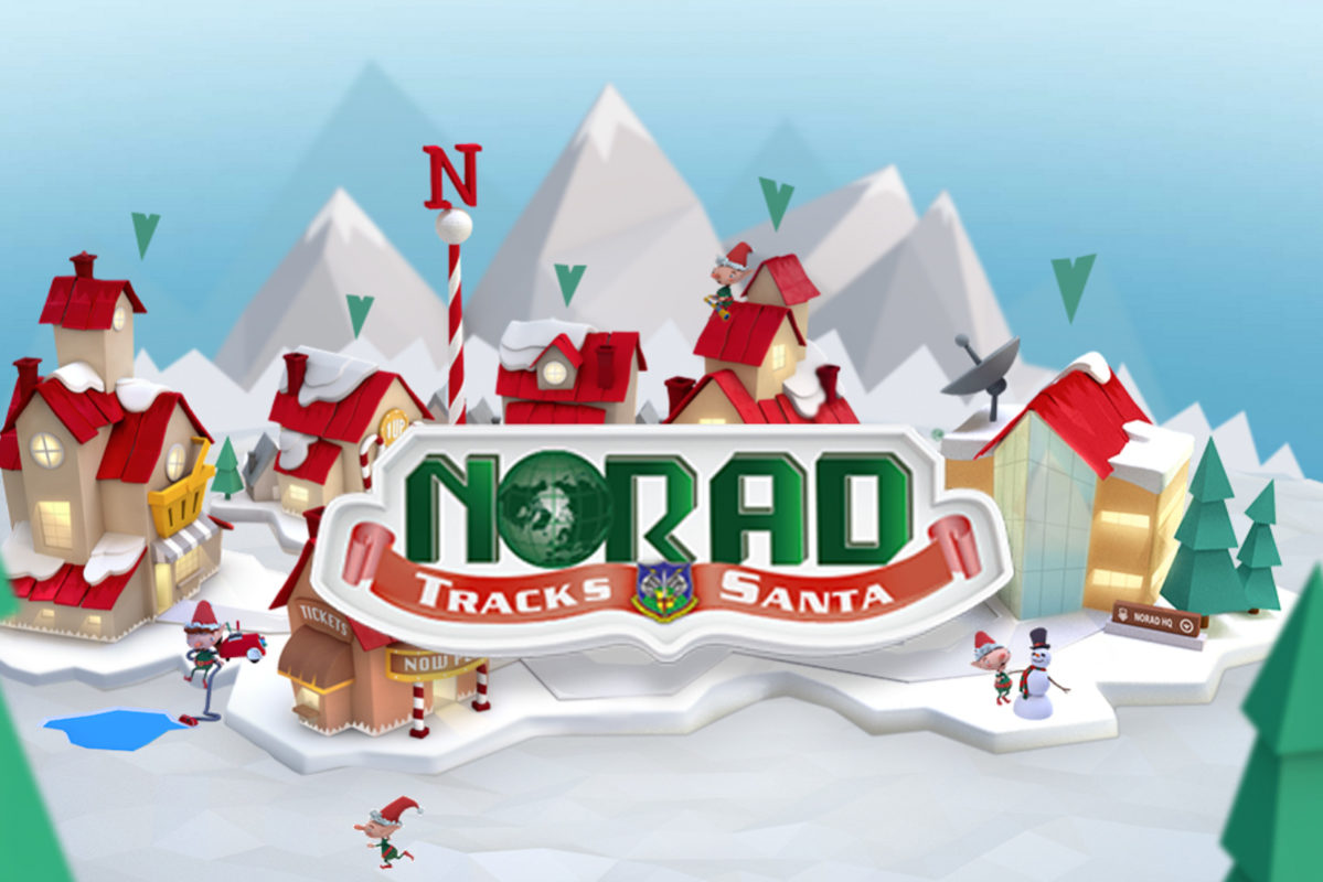 Norad Santa Tracker 2018 Boulder City, NV