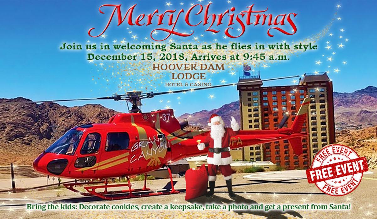 Hoover Dam Lodge Santa Event