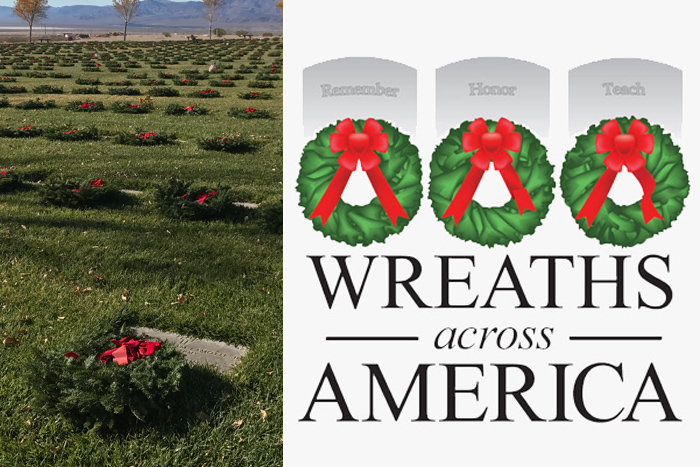 Wreaths Across America 2018 Boulder City, NV
