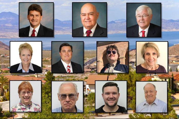 2019 Candidates Boulder City, Nevada