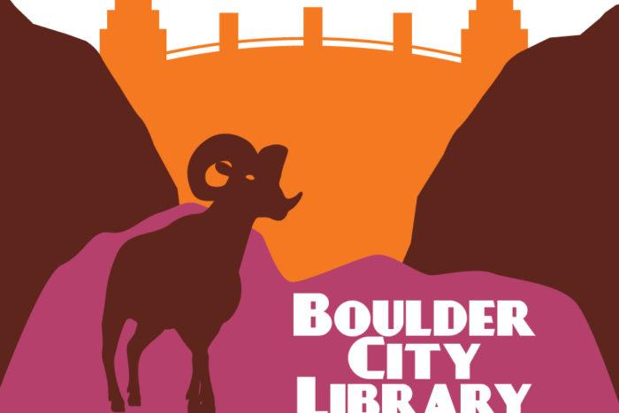 Boulder City Library Logo Boulder City, Nevada