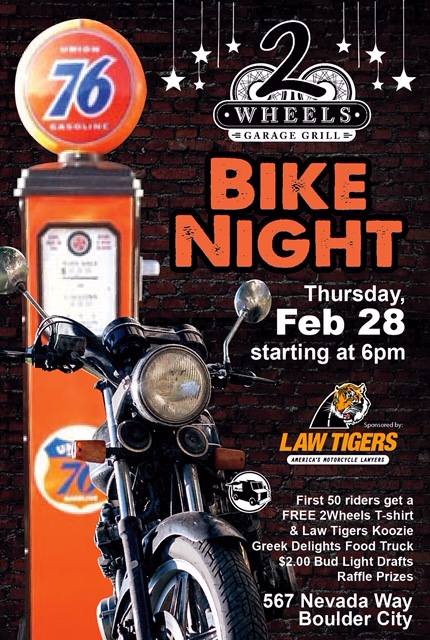 2Wheels Bike Night Boulder City, NV