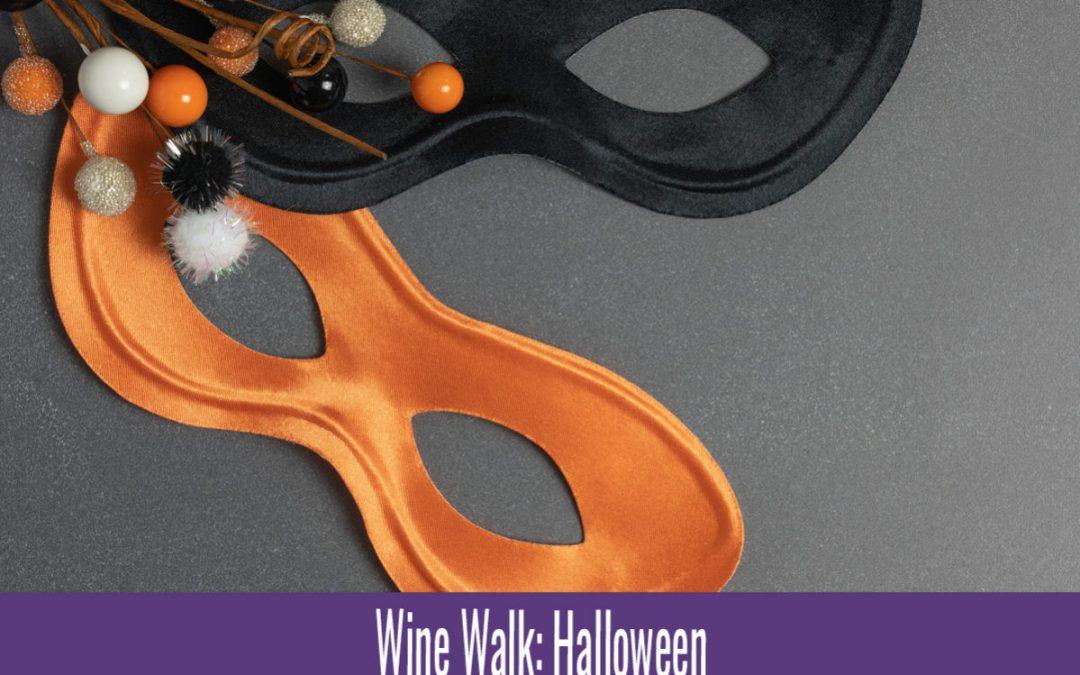 Wine Walk: Halloween Costume Fun
