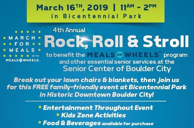 Senior Center Rock Roll Stroll Boulder City, NV