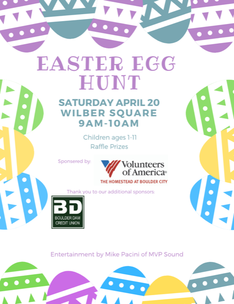 Easter Egg Hunt 2019 Boulder City, NV