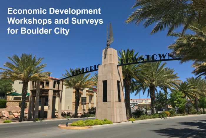 Economic Development Workshops Boulder City, NV