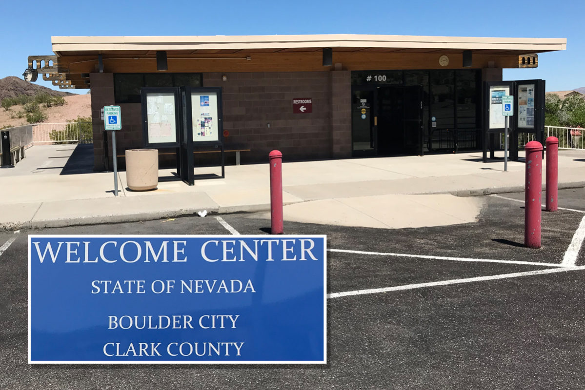 Welcome Center Closing Boulder City, Nevada