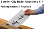 Ballot Questions 2019 Boulder City, Nevada