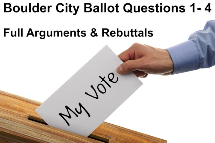 Ballot Questions 2019 Boulder City, Nevada