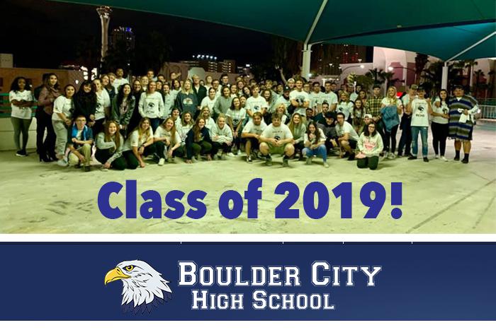 Class Photo Grad Night 2019 Boulder City, NV