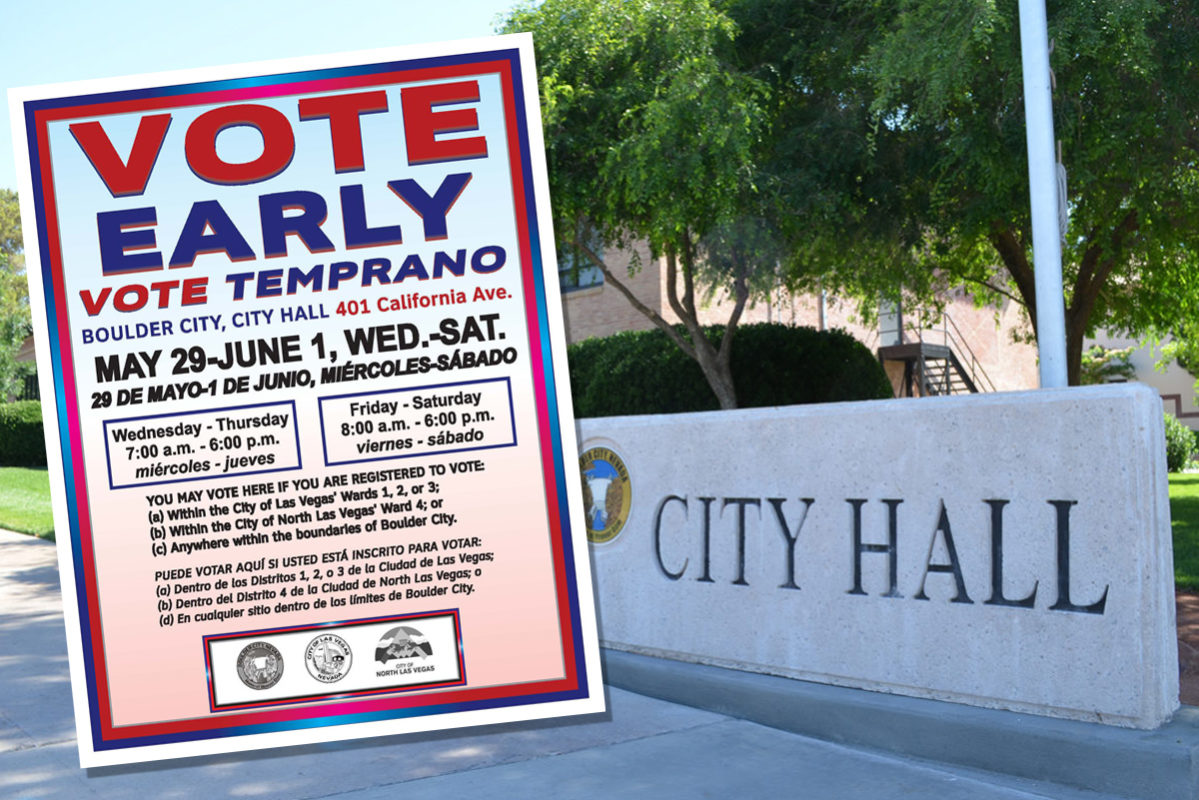 Early Voting Begins 2019 Boulder City, Nevada