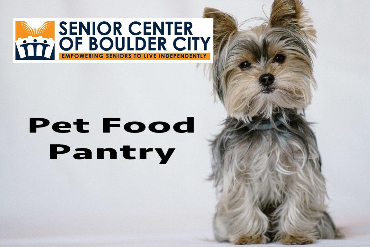 Senior Center Pet Food Pantry Boulder City, NV