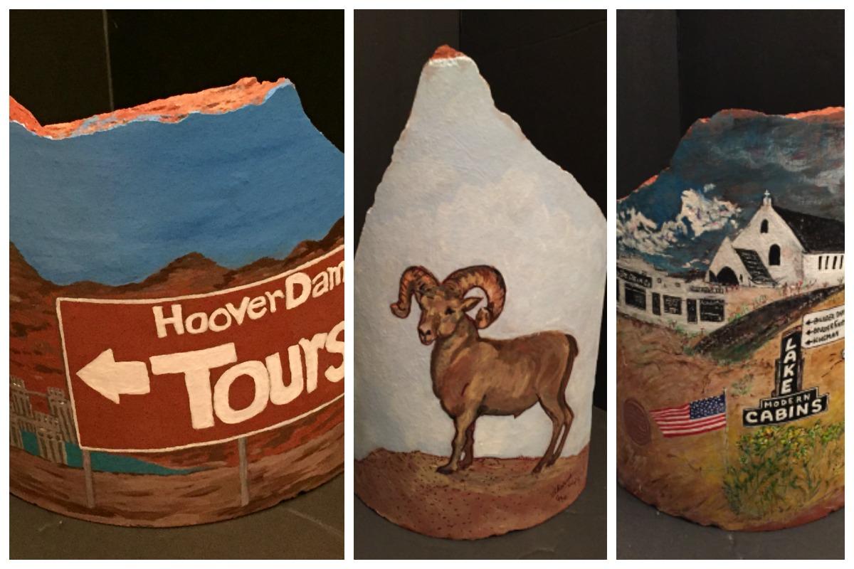 Tile Auction Post Collage Boulder City, Nevada