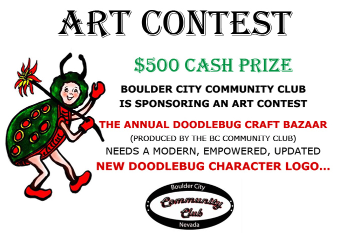 Doodlebug Art Contest Boulder City, Nevada