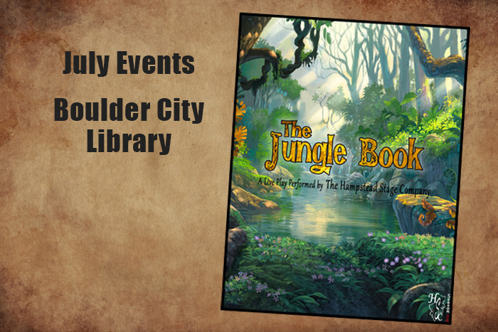 July Events Library Boulder City, Nevada