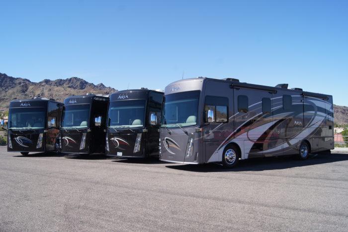 4 Motorhomes 4 Couples Boulder City, Nevada