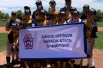Boulder City, NV Little League State Champs