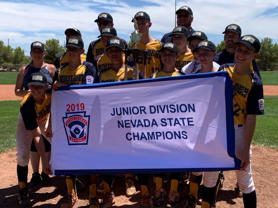 Boulder City, NV Little League State Champs