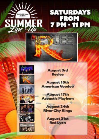 August-3 Hoover Dam Lodge Boulder City, NV