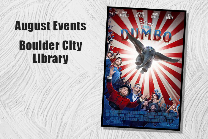 August Events Library Boulder City, NV