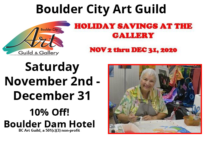 Art Guild Holiday Sale Boulder City, Nevada
