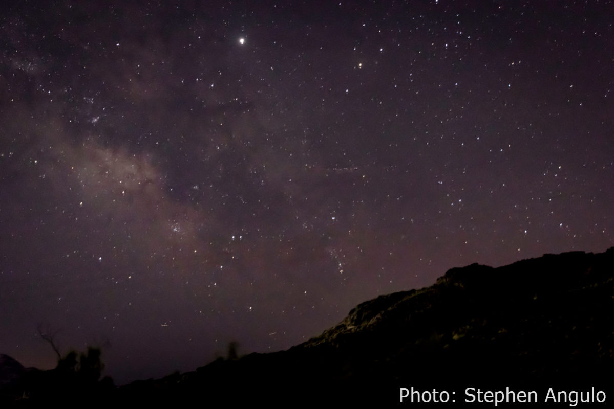 Fan Photo Stephen Angulo Milky Way Overlook Boiulder City, NV